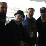 The guys from Three Days Grace